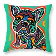Eddie Throw Pillow
