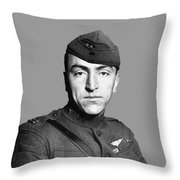 Eddie Rickenbacker Throw Pillow