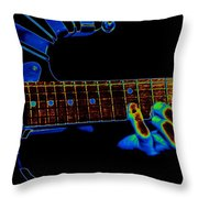 Cosmic Fingers Throw Pillow