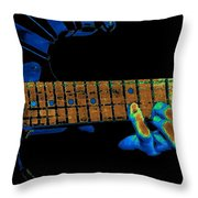 Totally Cosmic Fingers Throw Pillow