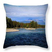 Eddy Park - Telkwa Throw Pillow