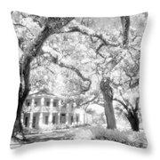 Eden Plantation A Florida State Park Throw Pillow