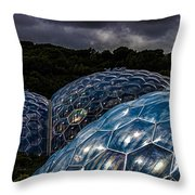 Eden Project Cornwall Throw Pillow