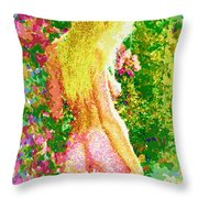 Eden Revealed Throw Pillow