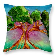 Eden's Tree Throw Pillow
