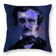 Edgar Allan Poe, Artsy 1 Throw Pillow