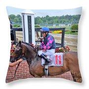 Edgar Prado - Sylphide Throw Pillow