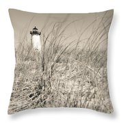 Edgartown Harbor Light Throw Pillow