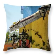 Edge Of House Throw Pillow