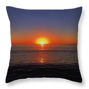 Edge Of Night Throw Pillow
