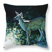 Edge Of The Wood Throw Pillow