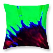 Edge Of Time And Space Throw Pillow