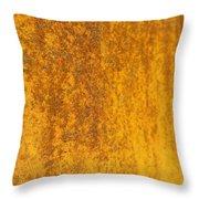 Edge To Edge Rust Throw Pillow