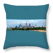 Edgewater Park  Throw Pillow