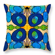 Edible Extremes Abstract Bliss Art By Omashte Throw Pillow
