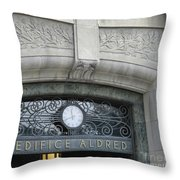Edifice Aldred 2 Throw Pillow