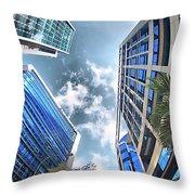 Edificios De Caracas Throw Pillow