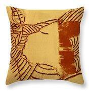 Edify - Tile Throw Pillow