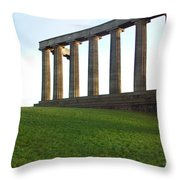 Edinburgh - Caption Hill Throw Pillow