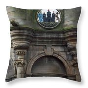 Edinburgh Church Throw Pillow