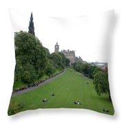 Edinburgh Park  Throw Pillow