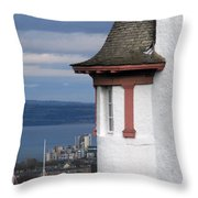 Edinburgh Scotland Throw Pillow