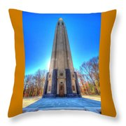 Edison Tower #2 Throw Pillow