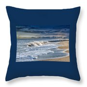 Edisto Island Beach Throw Pillow