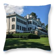 Edith Wharton Estate Throw Pillow