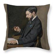 Edmond Maitre Throw Pillow