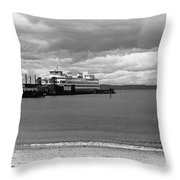 Edmonds Ferry Throw Pillow