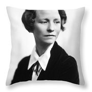 Edna St. Vincent Millay Throw Pillow