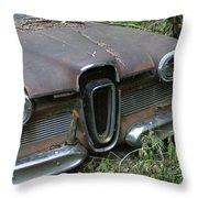Edsel -58 Throw Pillow
