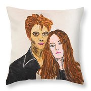 Edward And Bella Throw Pillow