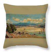 Edward Cairns Officer 1871-1921 Landscape Throw Pillow