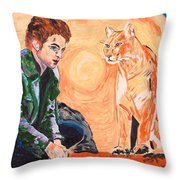 Edward Cullen And His Diet Throw Pillow
