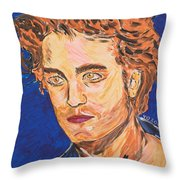 Edward Cullen Throw Pillow