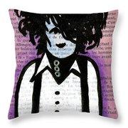 Edward Throw Pillow by Jera Sky