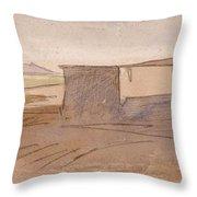 Edward Lear - Dendera Throw Pillow