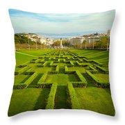 Edward Vii Park Throw Pillow