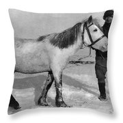 Edward Wilson (1872-1912) Throw Pillow