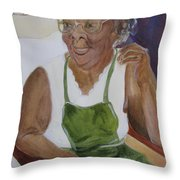 Edweena Throw Pillow