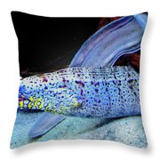 eel Throw Pillow