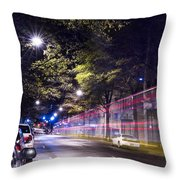 Eerie Road  Throw Pillow
