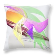 Effect Throw Pillow