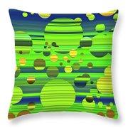 Effervescence Throw Pillow