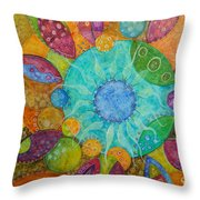Effervescent Throw Pillow by Tanielle Childers