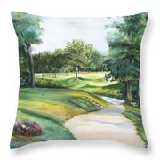 Effingham Country Club Throw Pillow