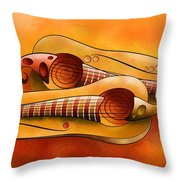 Efheros V1 - Squashguitar Throw Pillow