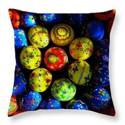 Egg - Parade Throw Pillow
